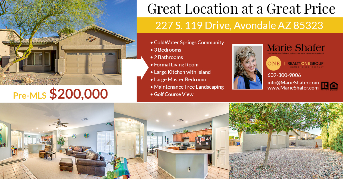 227 S. 119 Dr, Avondale, AZ 85323