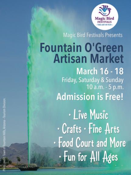 Fountain Hills AZ Fountain O'Green